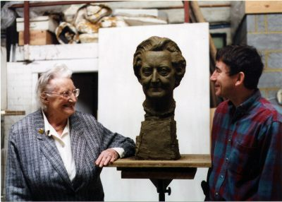 Dame Cicely Saunders at the last sitting