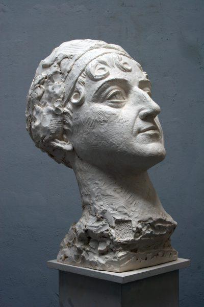 Head, plaster