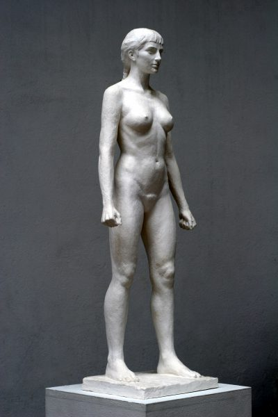 Hippolyta Maquette, plaster