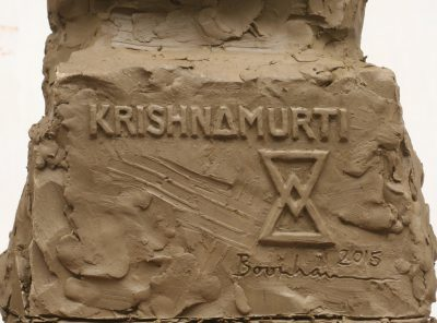 Krishnamurti inscription