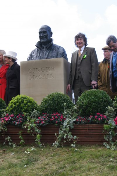 Unveiling at Aintree Racecourse