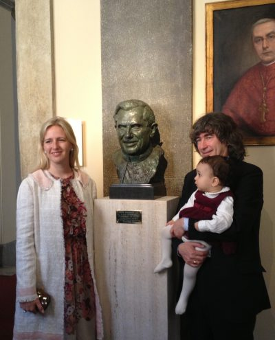 Unveiling by Lady Nicholas Windsor,Rome